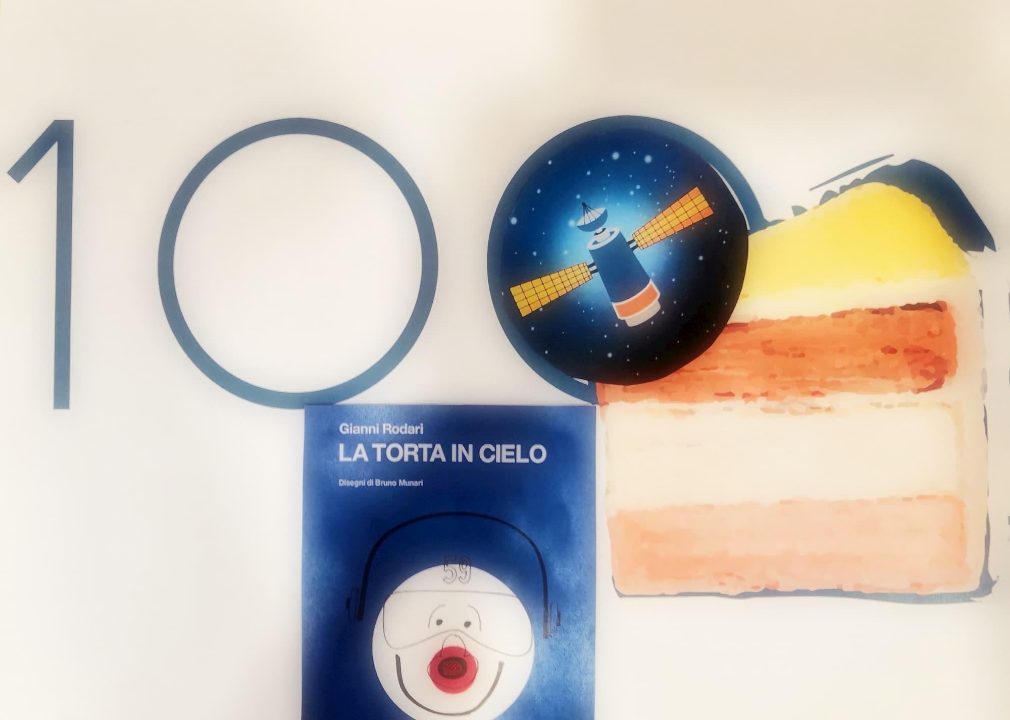 Un laboratorio per festeggiare con astronavi a forma di torta il centenario di Gianni Rodari e riscoprire l'ironia fantasiosa di La Torta in cielo, un romanzo rocambolesco dedicato ai più piccoli.