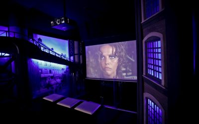 Cinecittà in un click: c'era una volta Sergio Leone