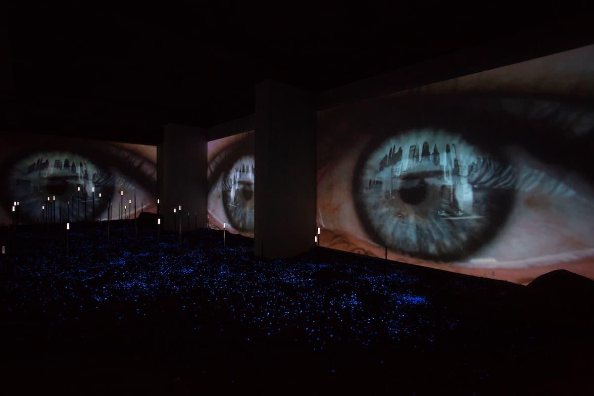 Un percorso interattivo per immergersi in un caleidoscopio di luci, suoni e immagini in movimento all'interno del Miac, il nuovo Museo Italiano dell'Audiovisivo e del Cinema negli storici studi di Cinecittà