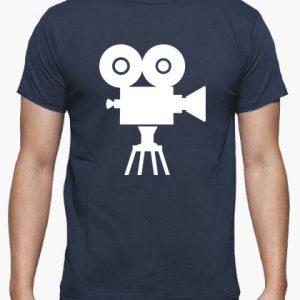 Tshirt cinepresa blu