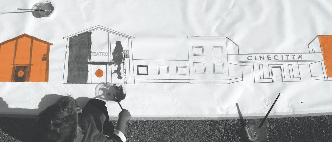 Cinecittà si Mostra presenta per giugno un calendario di attività didattiche da svolgere in totale sicurezza all'aperto negli ampi spazi verdi del parco delle mostre, lungo i viali alberati degli studi e nei set esterni permanenti di Cinecittà.